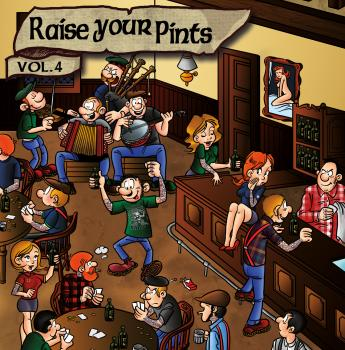 "V.A. ""Raise Your Pints Vol.4"" CD (+ Poster & Bierdeckel) ***VORBESTELLUNG***"